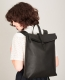 Klatta by Offermann Foldtop Backpack black