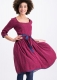 Blutsgeschwister Kleid calamity jane dress rouge roeses