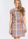 Blutsgeschwister Kleid cry to me dress cha cha checks