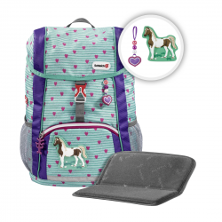 Step by Step KID Schleich Rucksack-Set Horse Club 3-teilig