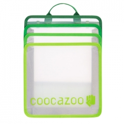 Coocazoo CheckBag faltbare Heftbox transparent mit Griff