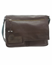 Strellson Holborn Messenger LH dark brown