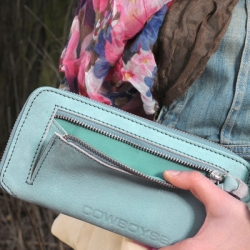 Cowboysbag Geldbörse The Purse ocean green 1238