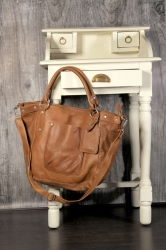Cowboysbag Bag Bridgewater tobacco Ledershopper 1414