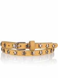 Cowboysbelt Sam Brown Sterngürtel yellow Gürtel 159040 400