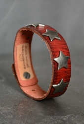 cowboysbelt Sternarmband Sam brown red 2379