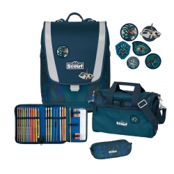 Scout Ultra Schulranzen 4tlg. Set Dino Jungle