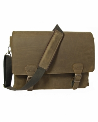ruitertassen Leisure Messenger 17 inch notebook bag khaki 754030L