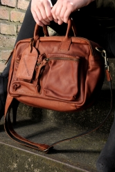 Cowboysbag The Bag small xs cognac dunkel 1118