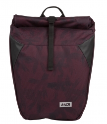 AEVOR Rolltop Rucksack Palm Red