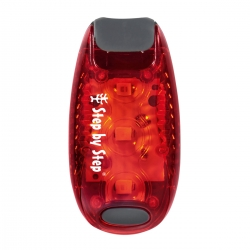 Step by Step LED-Sicherheits-Klemmleuchte rot