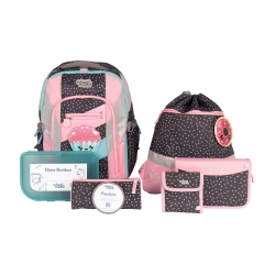 School Mood Loop Air+ Ida Cupcake Schulranzen Set 7tlg.