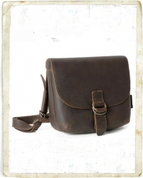 aunts and uncles Josy Handbag M Hunter dark brown
