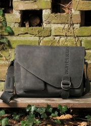 aunts and uncles Judd vintage grey Postbag M