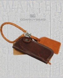 Cowboysbag Geldbörse Clutch Wallet Leash tan cognac 1138300