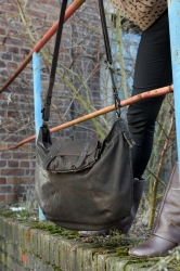 aunts and uncles Lou 2in1 Tasche dark brown