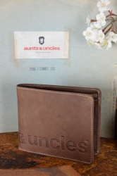 aunts and uncles Matt Hunter Logoprint vintage tan Scheintasche
