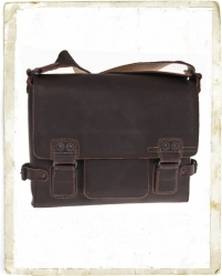 aunts and uncles Moby Hunter dark brown Postbag S