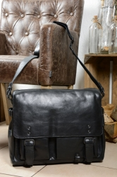 aunts and uncles Workaholic black Postbag L