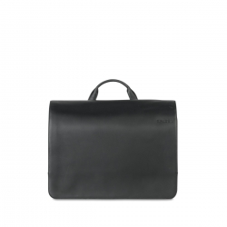 Salzen Messenger Bag total black