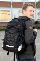 Satch Match Rucksack Black Triad