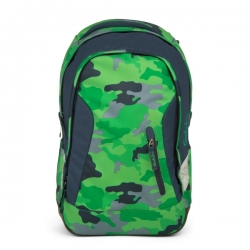 Satch Sleek Green Camou Rucksack