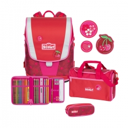 Scout Ultra Schulranzen Cherry Red 4tlg. Set