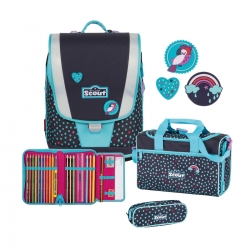 Scout Ultra Schulranzen Tropical 4tlg. Set