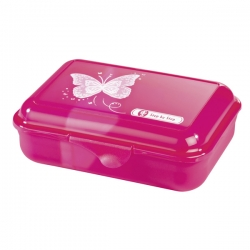 Step by Step Lunchbox Brotdose Shiny Butterfly