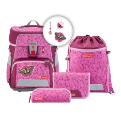 Step by Step Space Schulranzen-Set Natural Butterfly 5-teilig