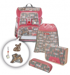Step by Step Space Schulranzen-Set Modern Deer 5-teilig
