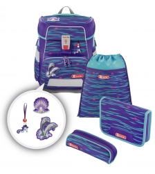 Step by Step Space Schulranzen-Set Happy Dolphins 5-teilig