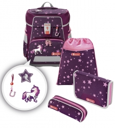 Step by Step Space Schulranzen-Set Unicorn 5-teilig