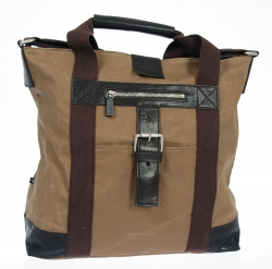 Strellson Waxy ToteBag V sand/ dark brown