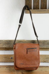 Strellson oakwood Messenger MV cognac