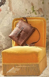 aunts and uncles Tyler Postbag M vintage tan