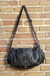 aunts and uncles Almond Handbag M grey black