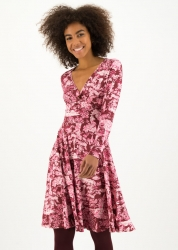 Blutsgeschwister Kleid autumn saloon robe toile de romantic