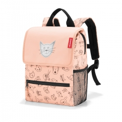 Reisenthel backpack Rucksack cats and dogs rosa