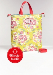 Blutsgeschwister beautiful from inside bag so bloomy Wendetasche