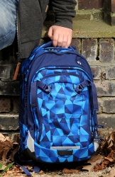 Satch Match Rucksack Blue Crush