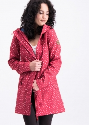 Blutsgeschwister Mantel wild weather long anorak dot and love