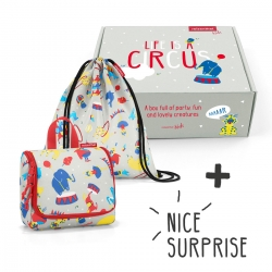 Reisenthel surprise box Geschenkbox kids circus
