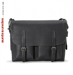 aunts and uncles Bro coal black Postbag L