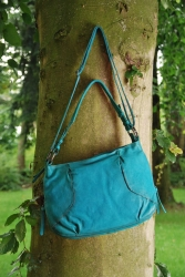 aunts and uncles Chinchilla Schultertasche turquoise