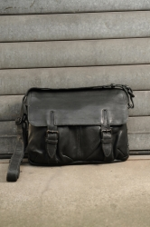 aunts and uncles City Hopper Postbag M grey black