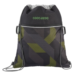 Coocazoo Sportbeutel RocketPocket2 Polygon Bricks Grey