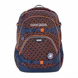 Coocazoo Schulrucksack ScaleRale Limited Edition FreakaSneaka Orange Blue