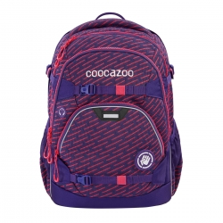 Coocazoo Schulrucksack ScaleRale Limited Edition FreakaSneaka Rose Purple