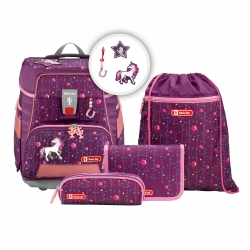 Step by Step e-Space Schulranzen-Set Dreamy Unicorn 5-teilig